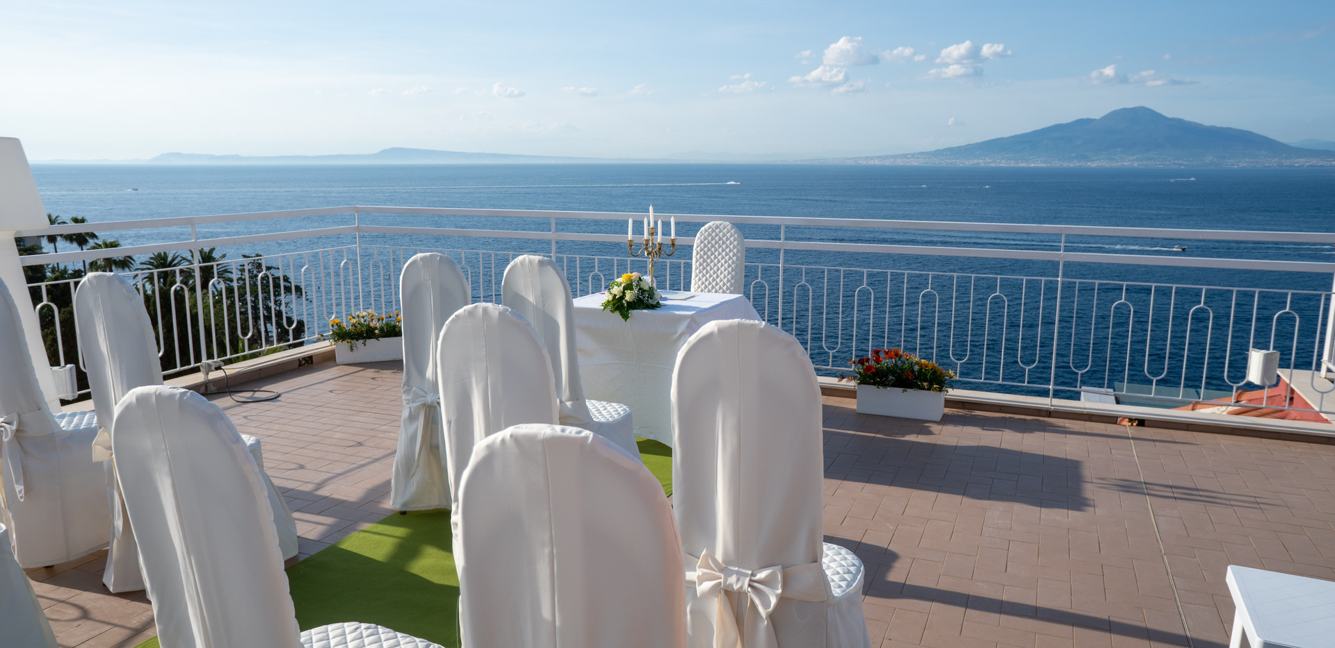 sea view ceremony