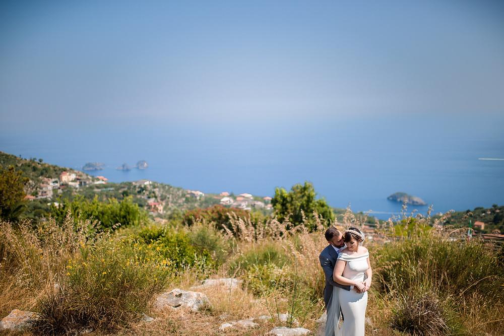 "Fattoria Terranova overlooks islands "" Li Galli "" . The island was once owned by the dancer Nureyev"