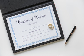 certificate de marriage