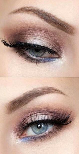 Green-eyed bride? Choose shades of pink