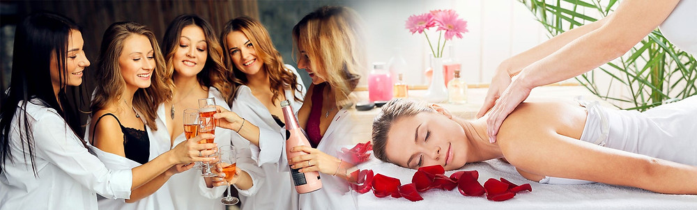 If the bride is one for getting pampered, or if you want to recover from all the previous excitement, have a time out and get the girls together for a few hours in a Spa