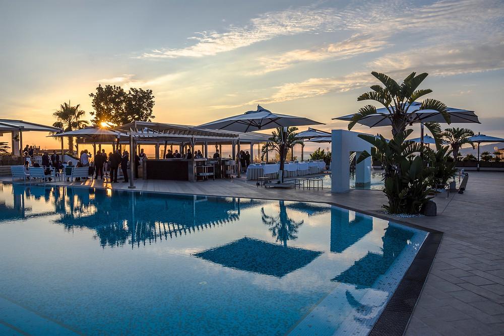 Sunset wedding - Hotel Moon Valley