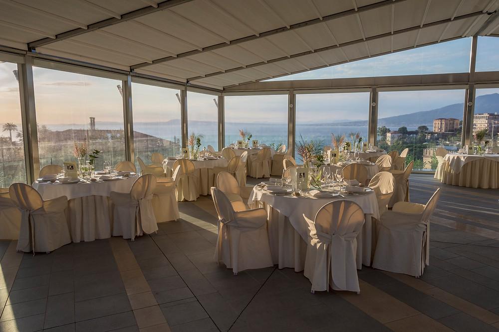 Grand Hotel Moon Valley  Sea view Wedding Venue in Sorrento coast, Italy