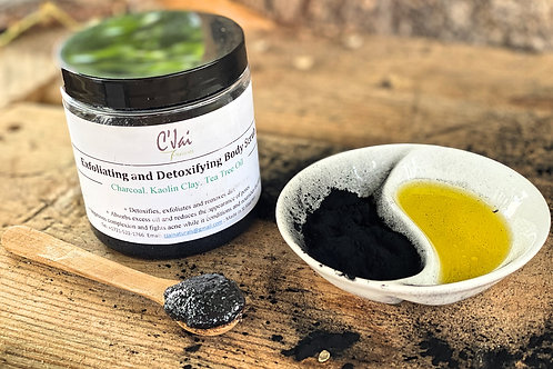 Exfoliating & Detoxifying Body Scrub
