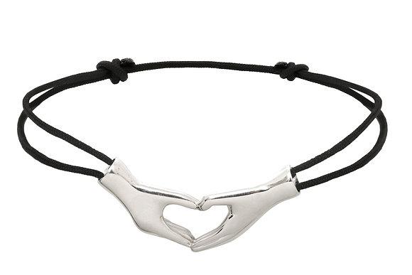 Bracelet cœurs - Argent