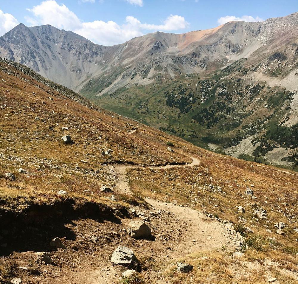 high altitude trail