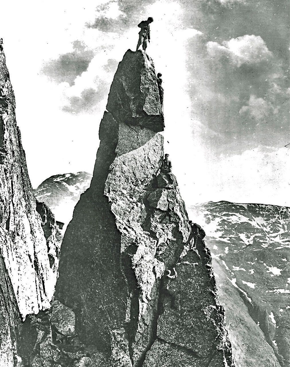 The Napes Needle. Photo by Abraham Clarence.
