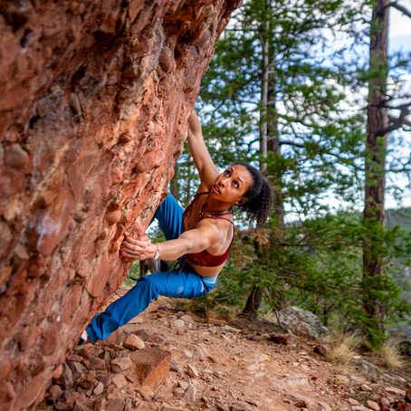 Switchbackr Spotlight: Climber Favia Dubyk