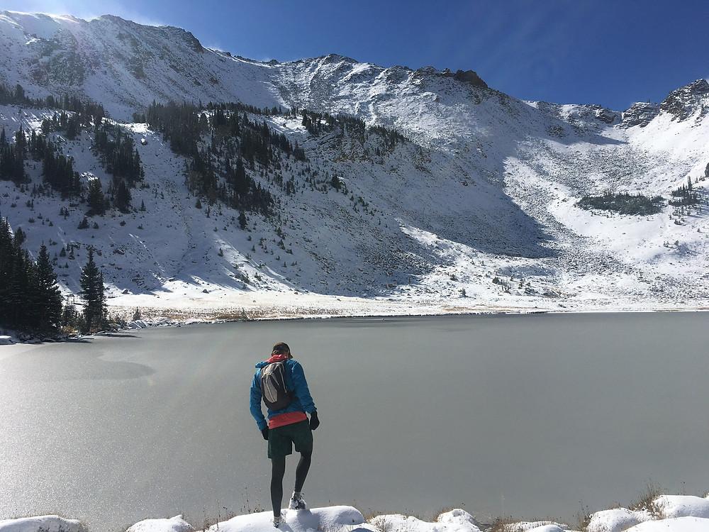 Icy Lake: Trail Running