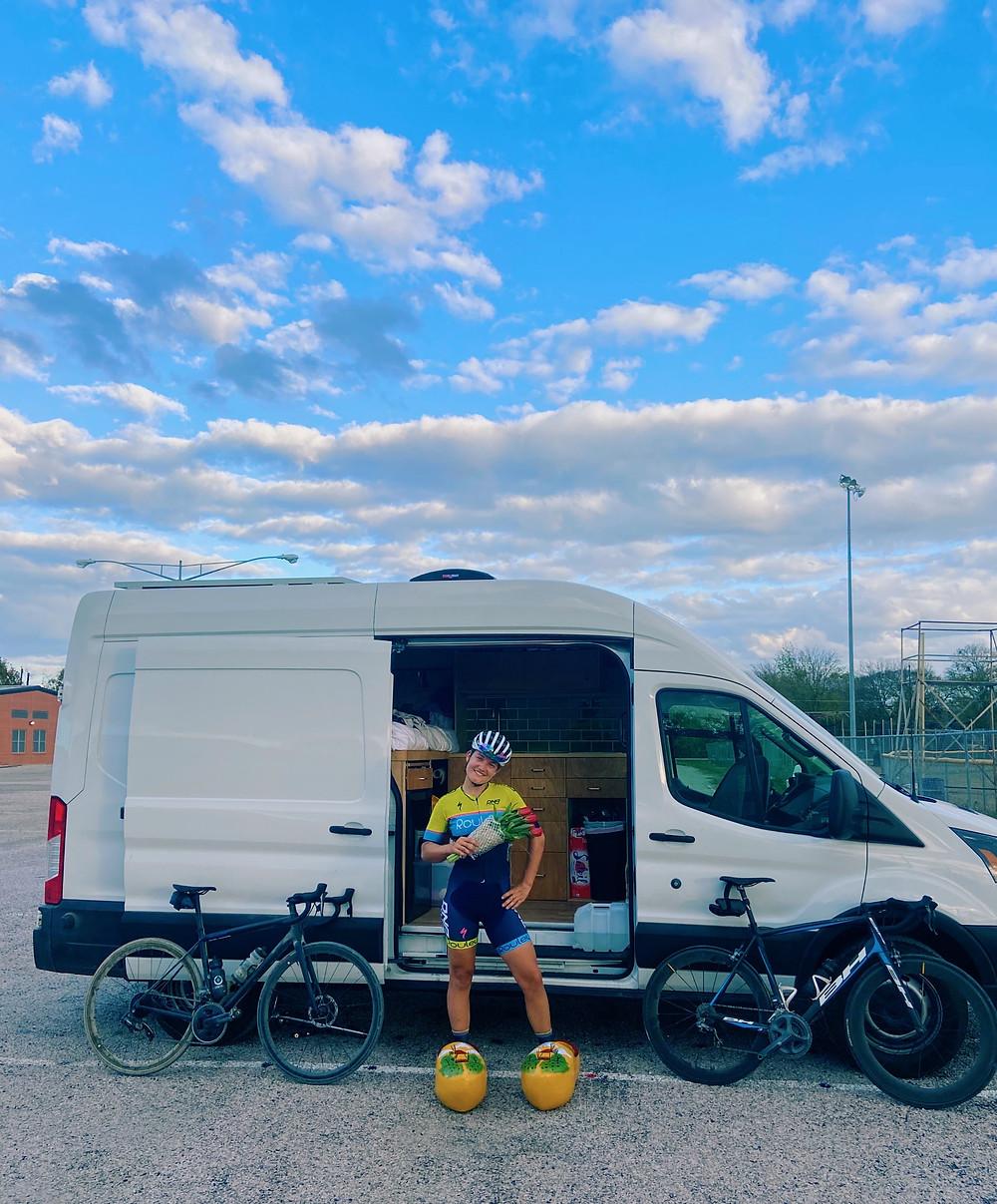 Vanlife and mountain bike racing