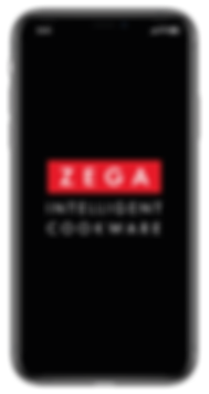 Zega Cookware - App - Home Screen