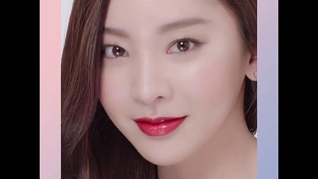 K Beauty Look - 쉬어래스팅 쿠션