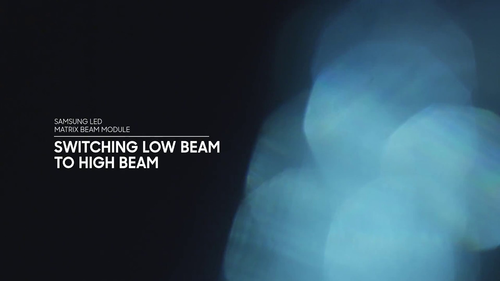 SAMSUNG LED MATRIX BEAM MODULE