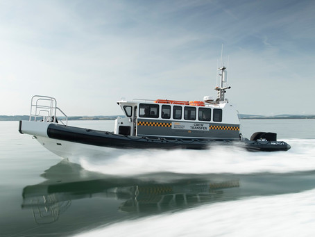 CRC Vanguard Project for Commercial RIB Charters, Lymington