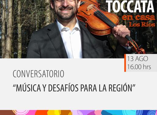 """Conversatorio """"Música y desafíos para la región"""""""