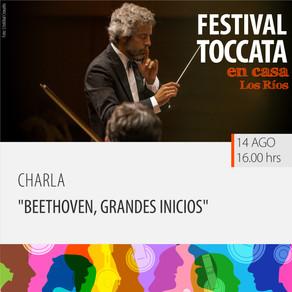 "Charla ""Beethoven, grandes inicios"""