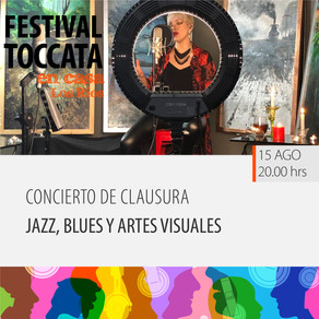 Concierto de clausura. Jazz, blues y artes visuales