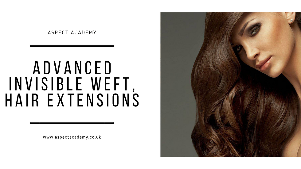 Advanced Invisible Weft Hair Extensions
