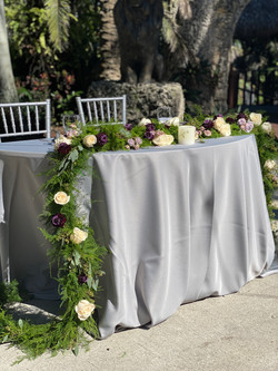 Another beautiful sweetheart table