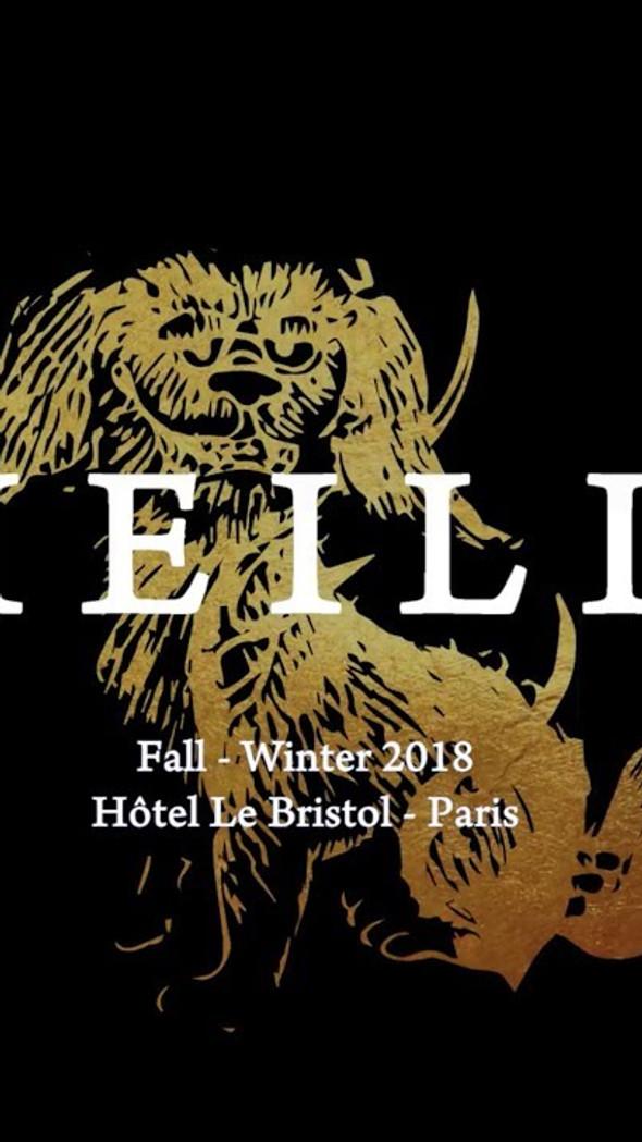 Automne-Hiver 2018/2019 Paris Fashion Week Defilé at The Ritz, Paris