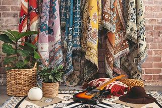 Garance Tresarrieu - projet freelance design textile rug hendeer