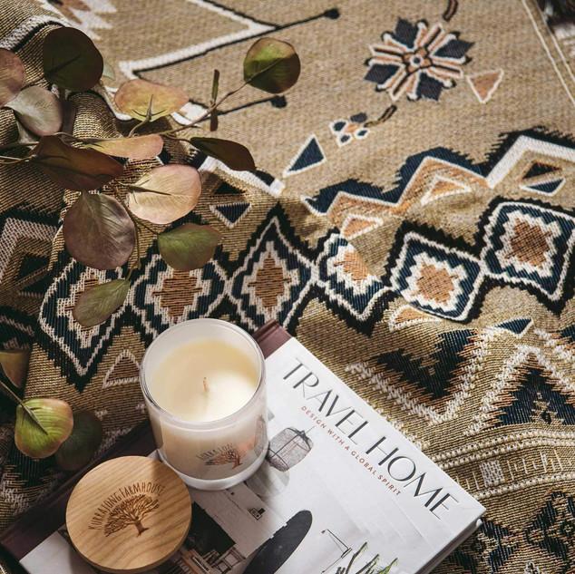 'Hey Jude' picnic rug