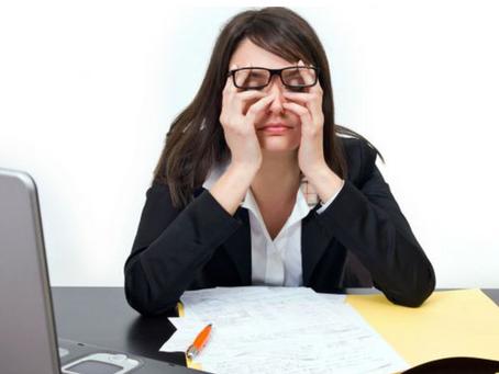 El estrés, causa de enfermedades.