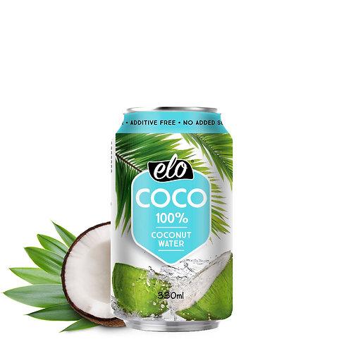 ELO COCO Kookosvesi 330ml x 12