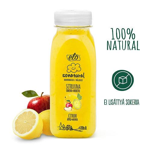 ELO Sonatural sitruuna-omena-minttumehu 250ml x 6