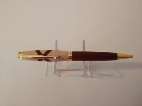 Mahogany, Maple with XO design