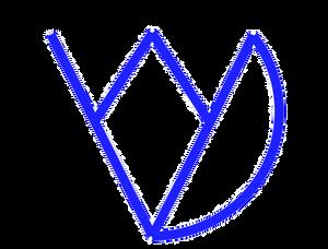ijvdw Logo i+j van der Weck in blau