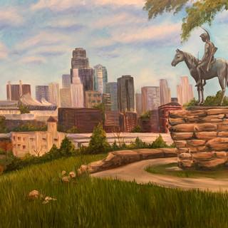 Overlooking Kansas City