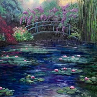 Monet's Garden in Givenry
