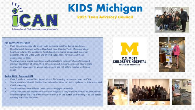 KIDS Michigan Poster 2021