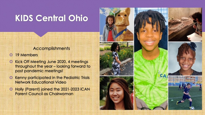KIDS Central Ohio Poster 2021