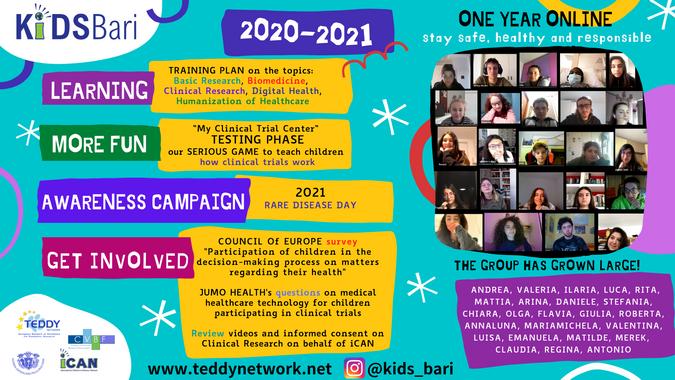 KIDS Bari Poster 2021