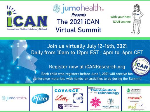 iCAN 2021 Virtual Summit Registration is OPEN
