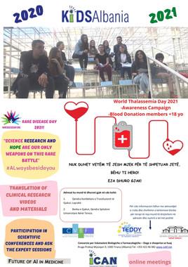 KIDS Albania Poster 2021