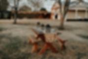 Dîner Table de jardin
