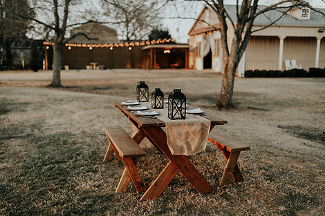 Сад обеденный стол