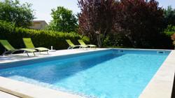 piscine vers terrasse