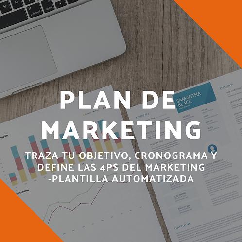 Plantilla- Plan de marketing turístico