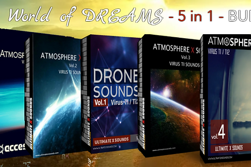 THE WORLD OF DREAMS 5 in 1 BUNDLE PACK