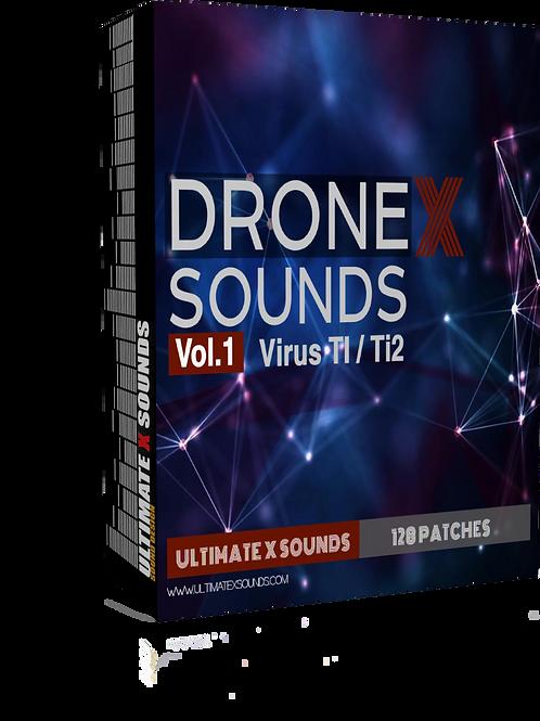 DRONE X SOUNDS Vol.1 Virus TI2 / TI Soundset ( OS5 )