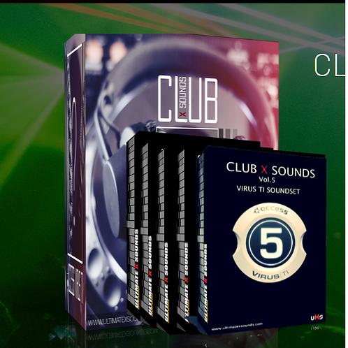 CLUB X BUNDLE 7 in 1 BUNDLE PACK