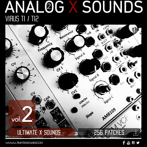 Analog X Sounds Vol.2 Access Virus Ti Soundset