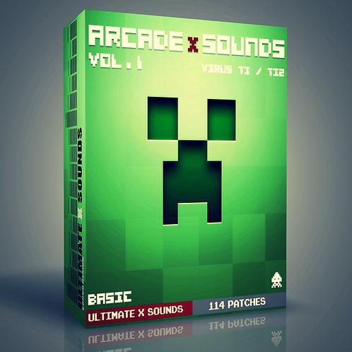 ArcadeX Sounds Vol.1 Virus TI2 / TI Soundset - BACIC