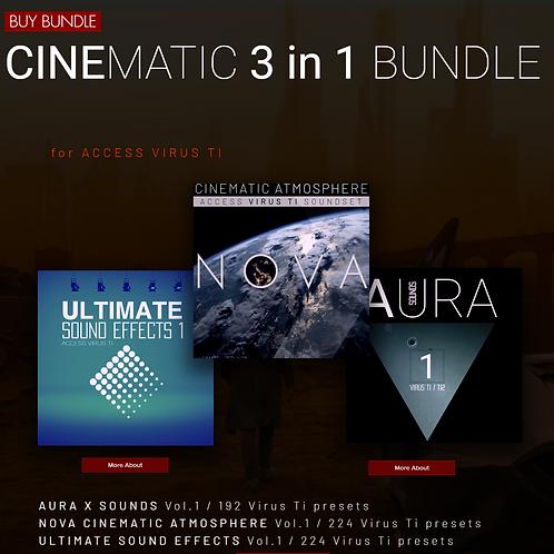 CINEMATIC3 in 1BUNDLE 3 in 1 BUNDLE PACK