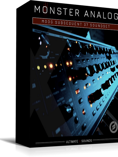 Monster Analog Vol.2 MOOG Subsequent 37 SoundSet