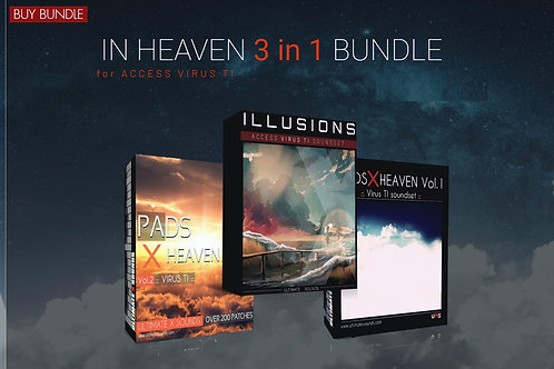 In Heaven  3 in 1  - BUNDLE  PACK